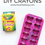 How to Make Fun Shaped Crayons