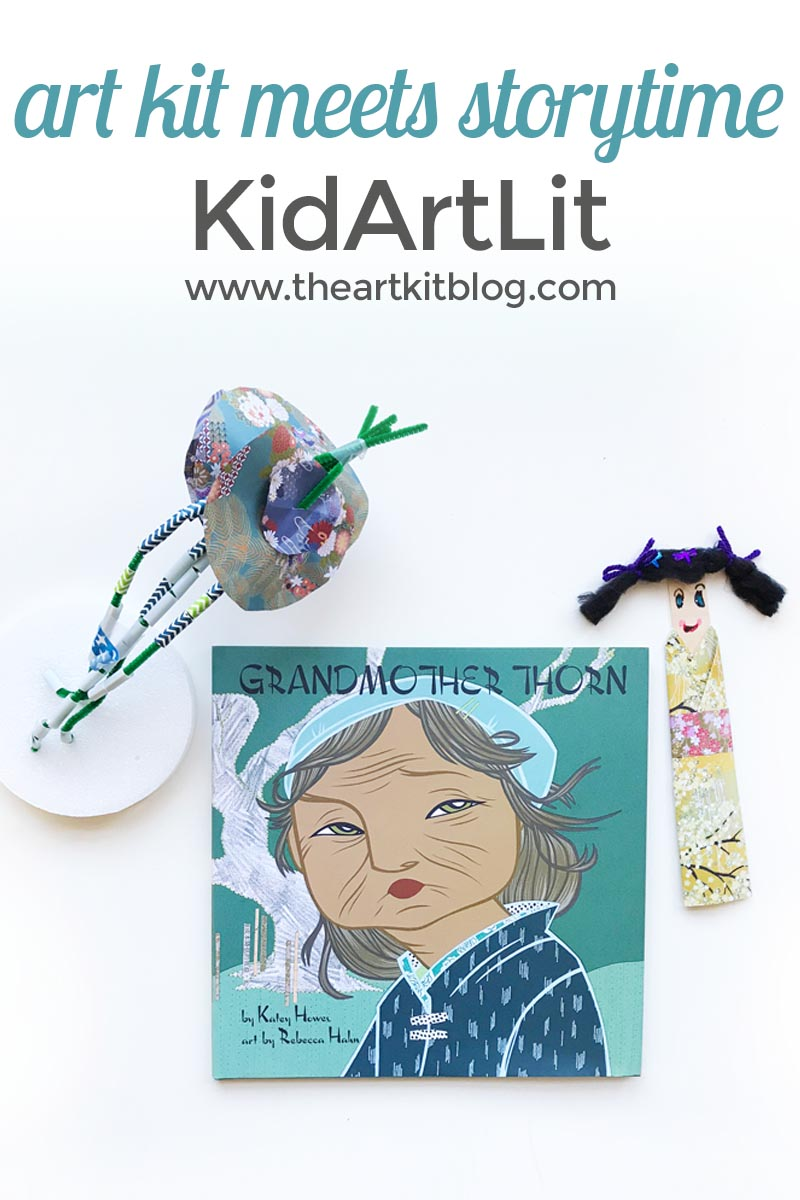 kidartlit art kit meets storytime delivered subscription box review for kids