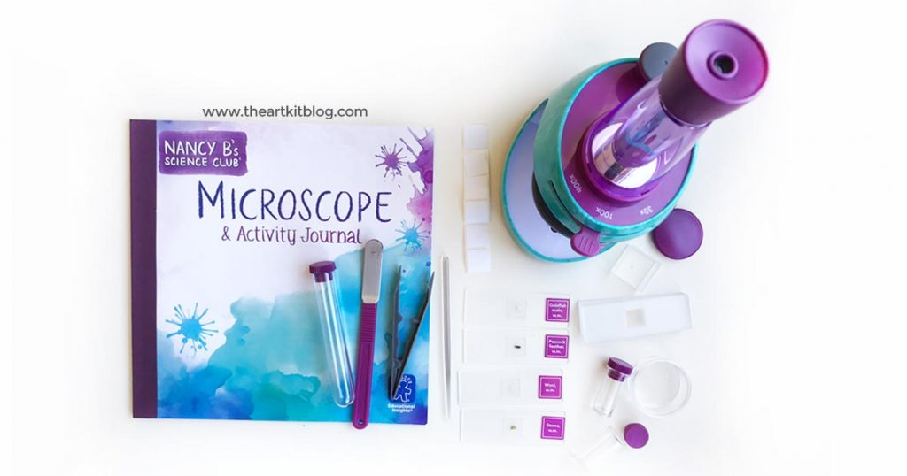 nancy b microsccope kids stem learning activity journal science the art kit blog