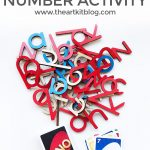 Make Number Practice Painless with These Two Items: Simple Spelling Activity for Kids