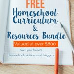 Homeschool Thursday: FREE Curriculum & Resources Bundle {Valued at Over $800!}