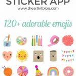 Artsy Emojis {The Sticker App for Creative People}