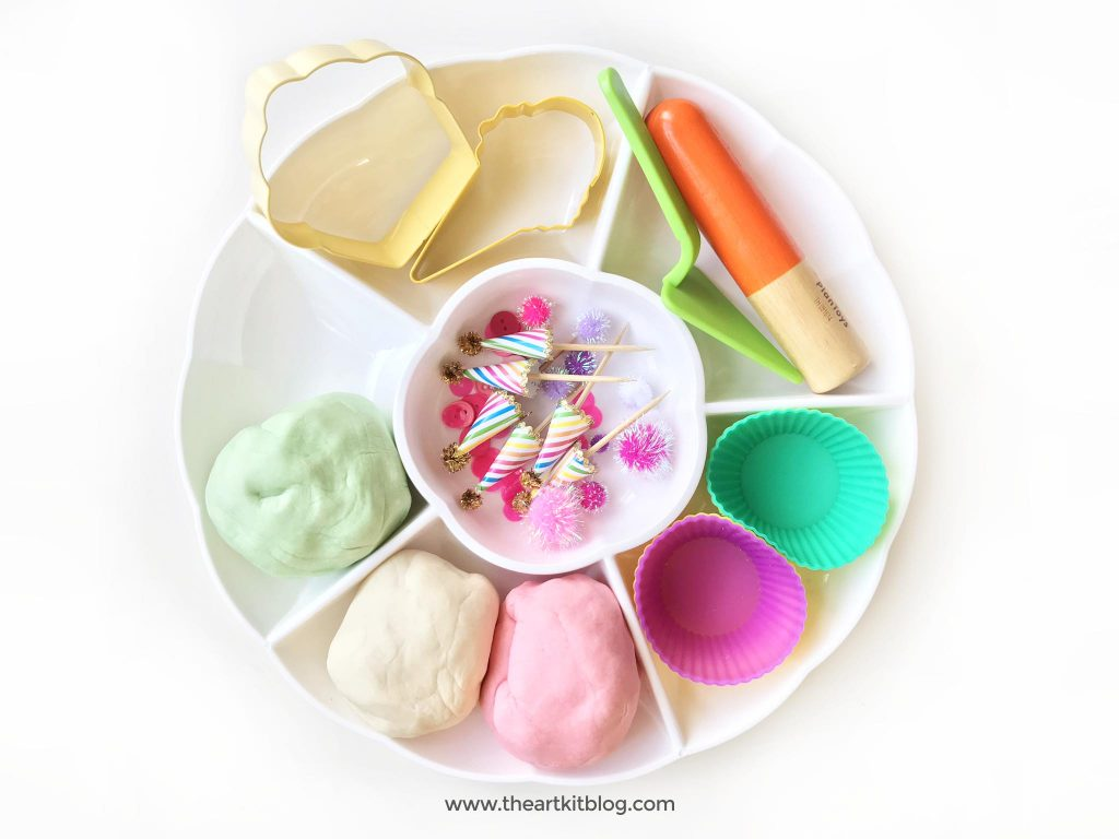 Birthday playdough activity party play dough ideas invitation to play create the art kit blog