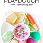 Birthday Playdough {Recipe + Play Ideas}