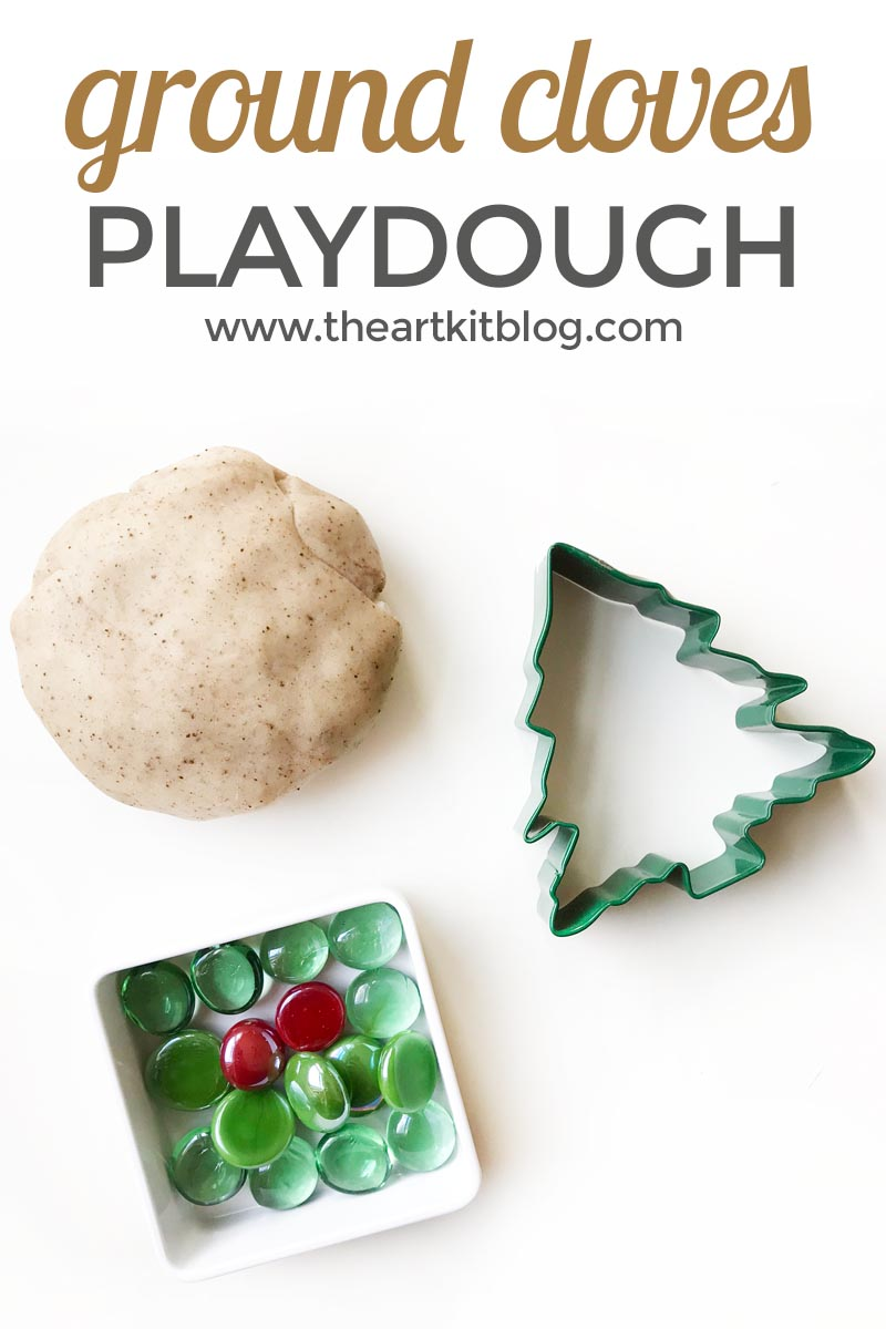 Ground cloves playdough recipe natural homemade playdough the art kit