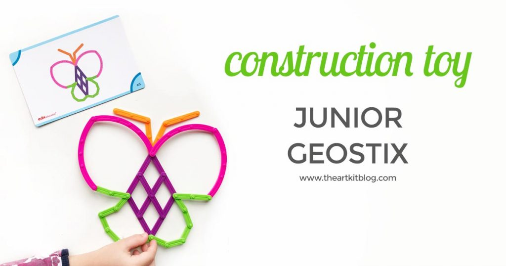 Junior Geostix review construction toy for kids