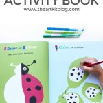 Draw and Learn Animals and Places Activity Book Review
