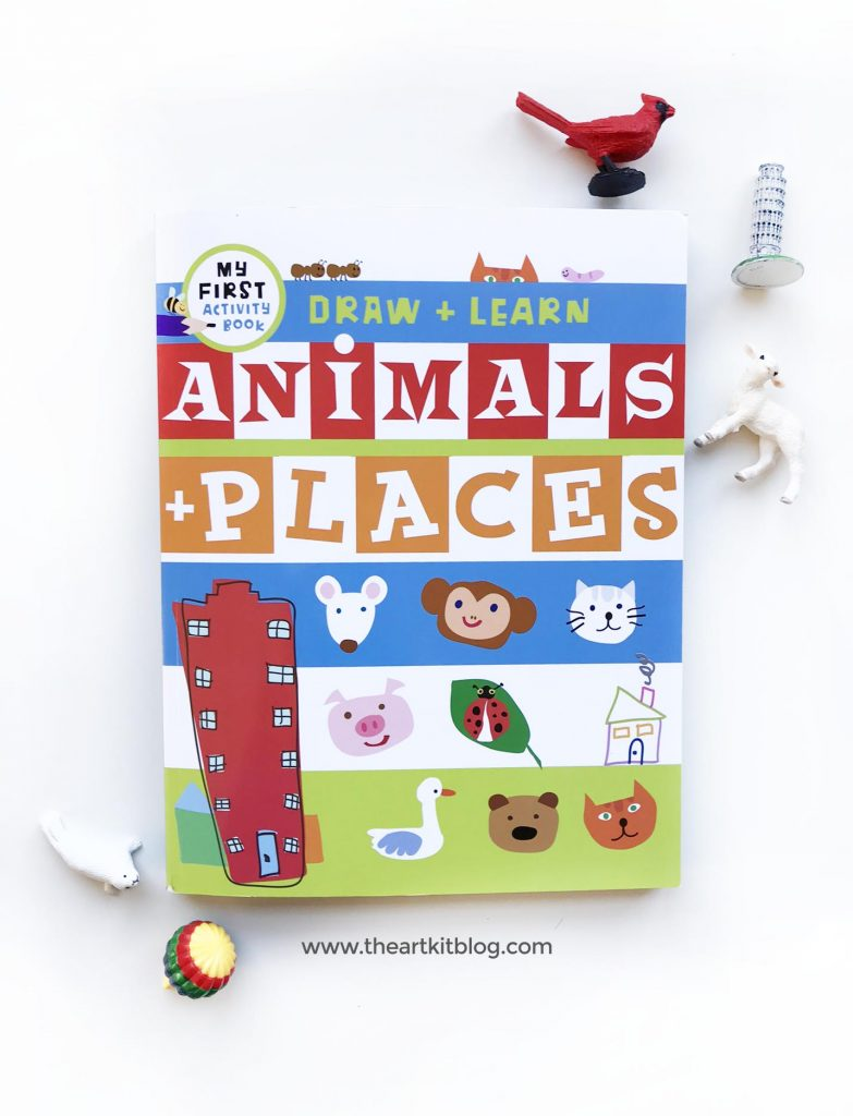 Draw and learn animals and places activity book for kids toddlers preschoolers review timberdoodle the art kit blog