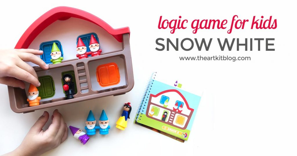 Smart Games Snow White Review Logic Game for Kids Timberdoodle Homeschool Curriculum