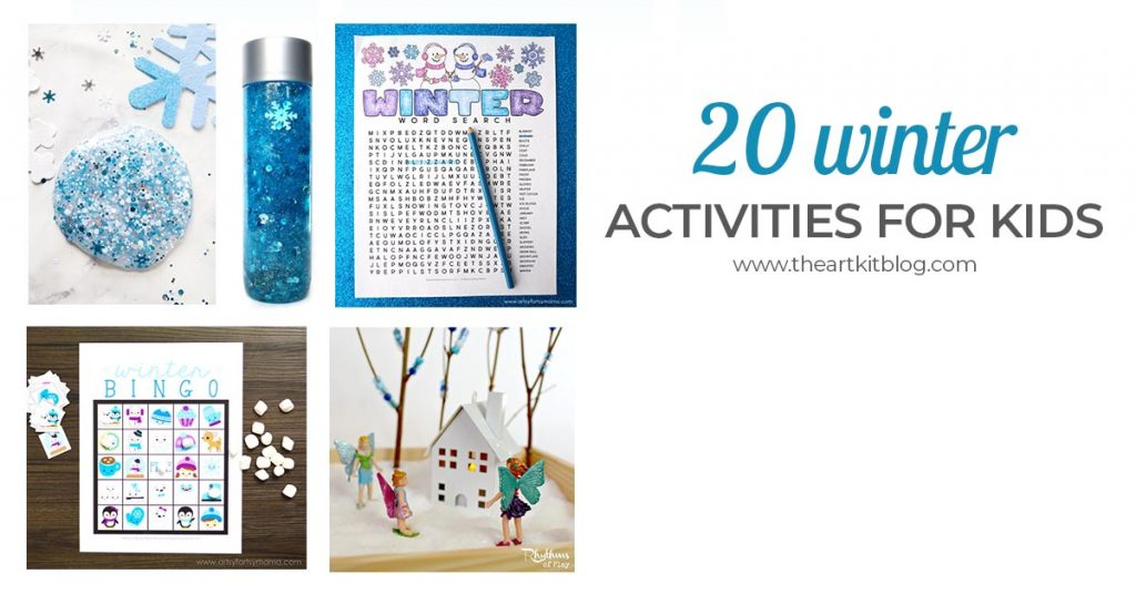 20 winter activities for kids FACEBOOK