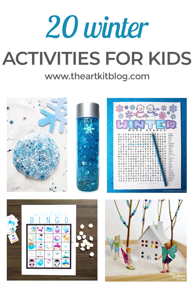 20 Winter Activities for Kids - The Art Kit