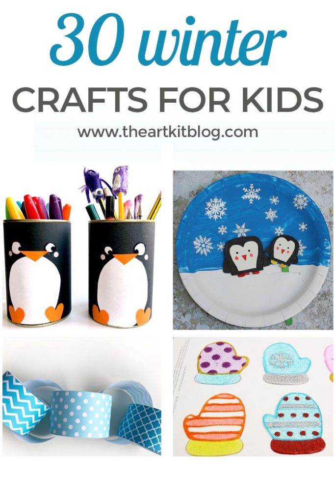 30 Winter Crafts for Kids Winter is here and to celebrate the season, we've put together a fun and super simple winter craft for kids. All you have to do is print out our free snowflake printable, set out a couple craft supplies or playdough, and let the kids do the rest!  To see all the fun, as well as how you can download this printable for free, please continue reading below. Affiliate links have been included for your convenience. Please see our full disclosure if you'd like more information. What You'll Need Winter craft sheet (Sign up for our newsletter here to gain access to our library of printables which includes this activity sheet.) Already a subscriber? Login to our resource library to download them. Glitter glue Pom poms, buttons, gems Related: If You Give a Mouse a Cookie {Printable Counting Cookies Activity} What to Do Winter Mitten Art by Teaching 2 and 3 Year Olds Pom Pom Snowman by Teaching 2 and 3 Year Olds Melted Snowman by Messy Little Monster Snow Paint by The Science Kiddo DIY Snow Globe by Artsy Fartsy Mama DIY Winter Window Clings by Artsy Fartsy Mama Hot Cocoa Counting Mats: Free Printable by the Art Kit Toilet Roll Snowman by Red Ted Art   Polar Bear Bookmark Corner by Red Ted Art   DIY Penguin Pencil Holder by Red Ted Art   Moveable Penguin Paper Plate Craft by Crafts on Sea Snowflake Paper Plate Twirler by Crafts on Sea Winter Paper Toy Cones by Hattifant Simple Winter Snowflake Craft: Free Printable by The Art Kit Christmas and Winter Kaleidocycles by Hattifant Winter Bookmarks: Pom Pom Mittens by Hattifant Winter Coloring Pages by Hattifant Paper Snowflakes by Little Worlds DIY Snowflake Slime by The Art Kit Winter Paper Chain: Free Printable by The Art Kit [convertkit form=5041417] Do these winter crafts sound like something you'd like to try? If so, please share them on social media. Or, pin it to save for later. Looking for more simple + fun activities? Be sure to check out our other creative ideas: Hot cocoa number activity sheets {free printable} Snowflake slime recipe Winter playdough kit + printable playdough mats Arctic playdough recipe + play activities What else would you like to see from The Art Kit? Let us know in the comment section below. Follow us on Facebook, Pinterest, Instagram, and Twitter, and please sign up for our newsletter to receive updates and FREE printables. We love seeing how we've inspired you! Tag us on social media (@theartkit) so we can follow along with the fun. :) [convertkit form=5041417] %MCEPASTEBIN%