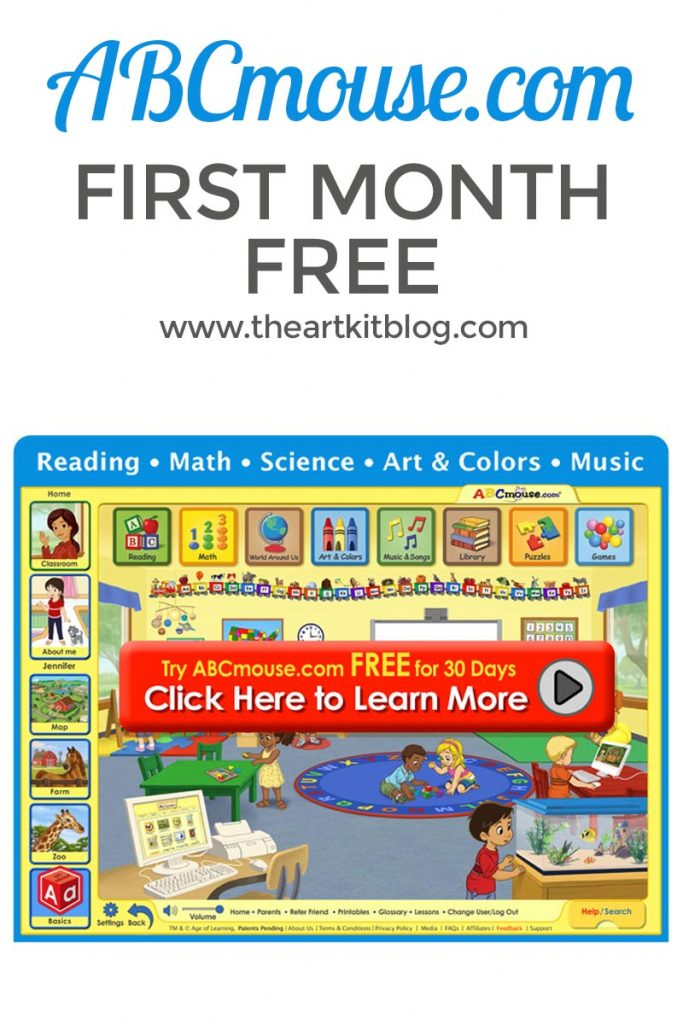 ABCMOUSE first month free deal
