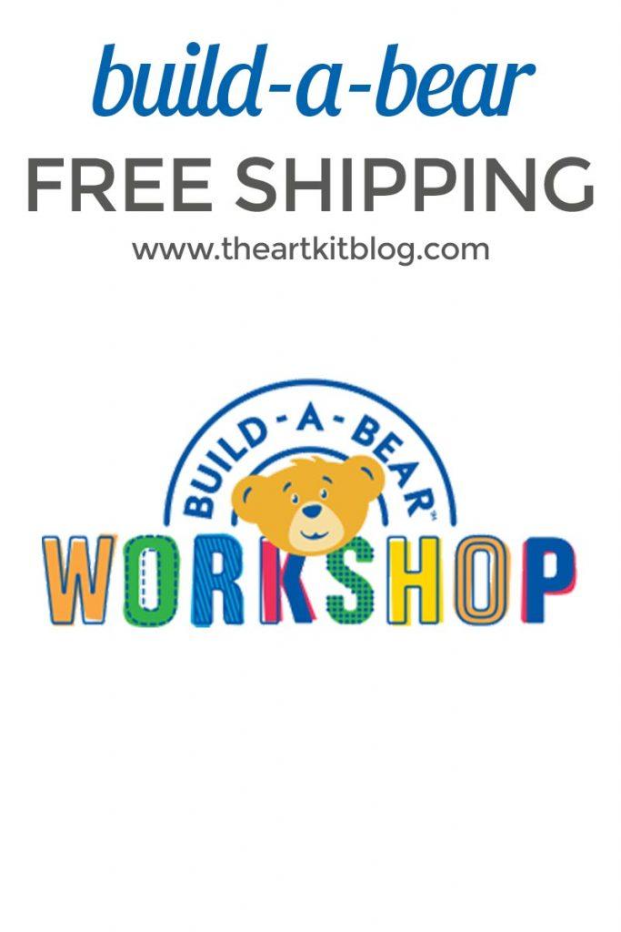 BUILD A BEAR FREE SHIPPING