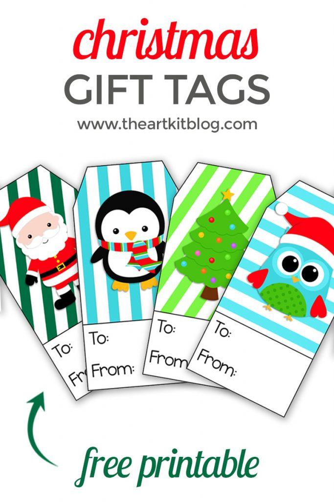 Christmas Gift Tags The Art Kit Blog