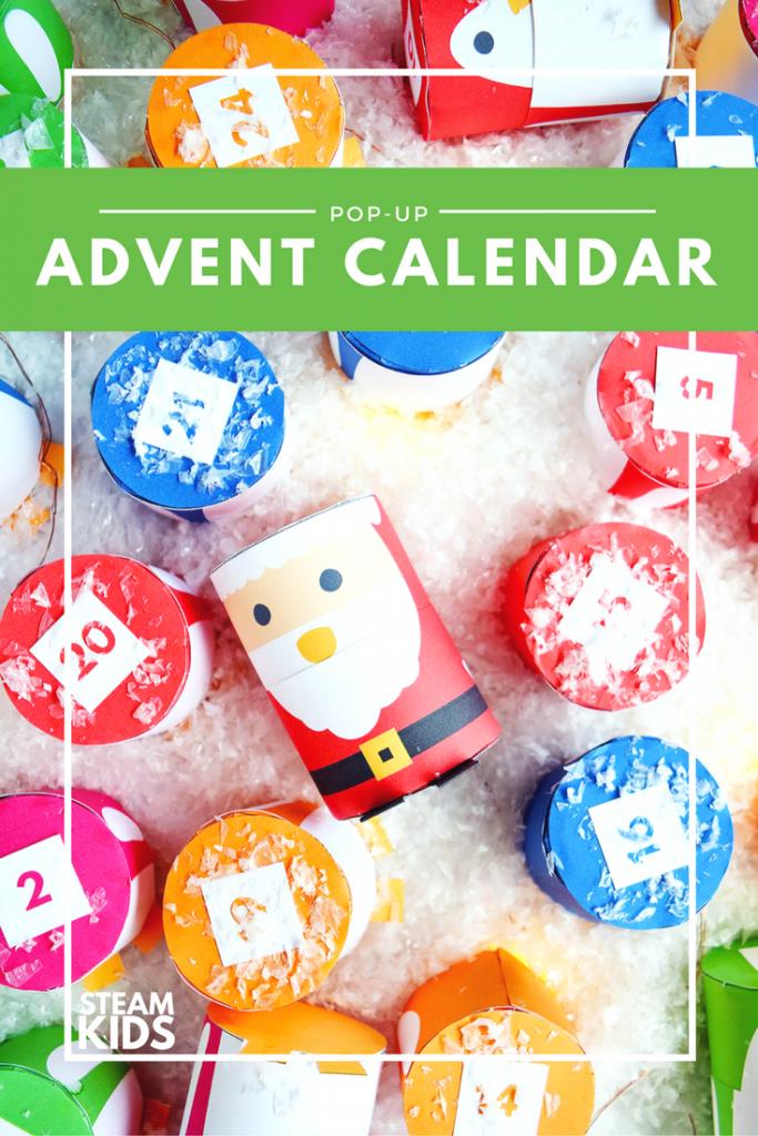 steam kids advent calendar diy
