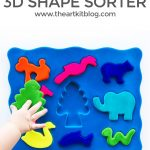Rubbabu 3D Animal Shape Sorter {Squishy + Velvety Soft!)
