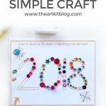 Simple New Year's Craft for Kids {Free Printable}