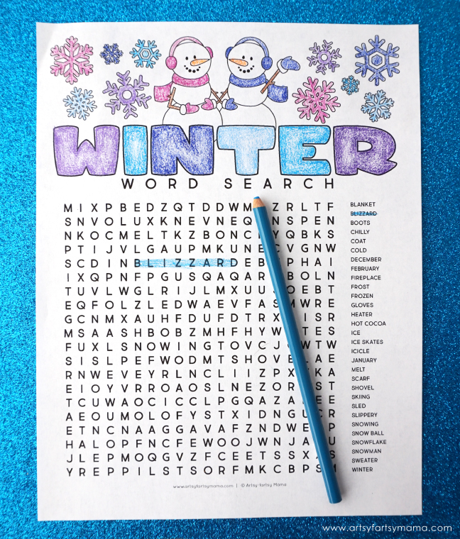 Winter-Word-Search-Final - The Art Kit