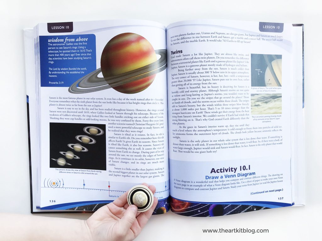 Exploring Creation with Astronomy Review {Textbook + Notebooking Journal}