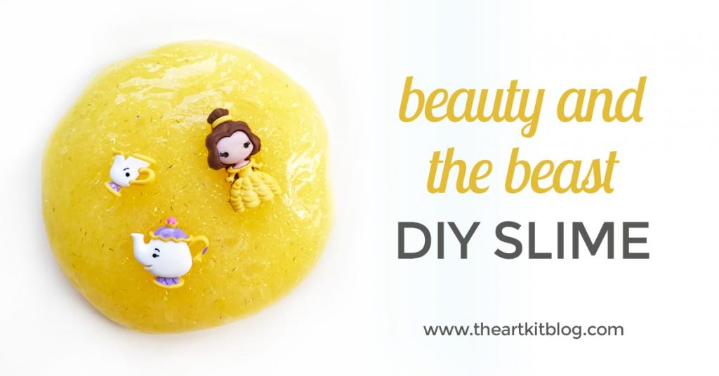 beauty and the beast slime the art kit