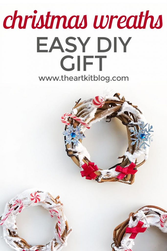 christmas wreath craft for kids grapevine wreath craft