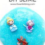 Cinderella Slime {Easy DIY Recipe}