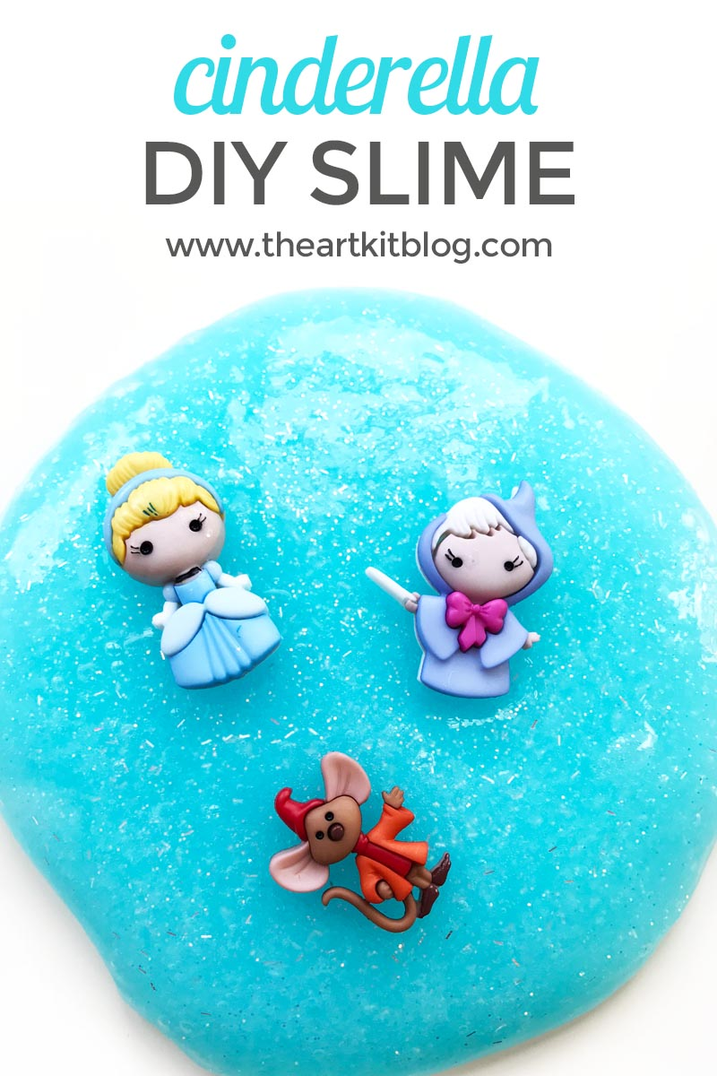 Cinderella Slime {Easy DIY Recipe}
