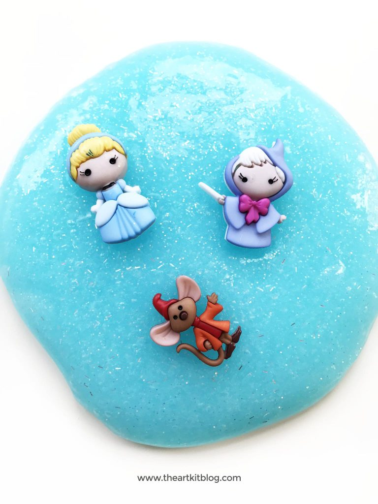 cinderella slime the art kit easy diy recipe