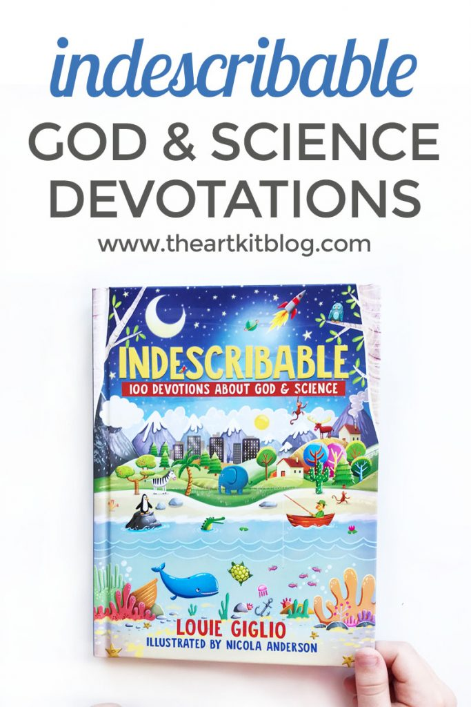 indescribable devotions about god and science review the art kit