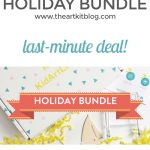 Last-Minute Holiday Bundle Deal from KidArtLit