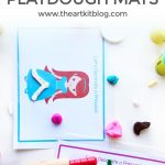 Decorate a Princess {Instant Download Playdough Mats}
