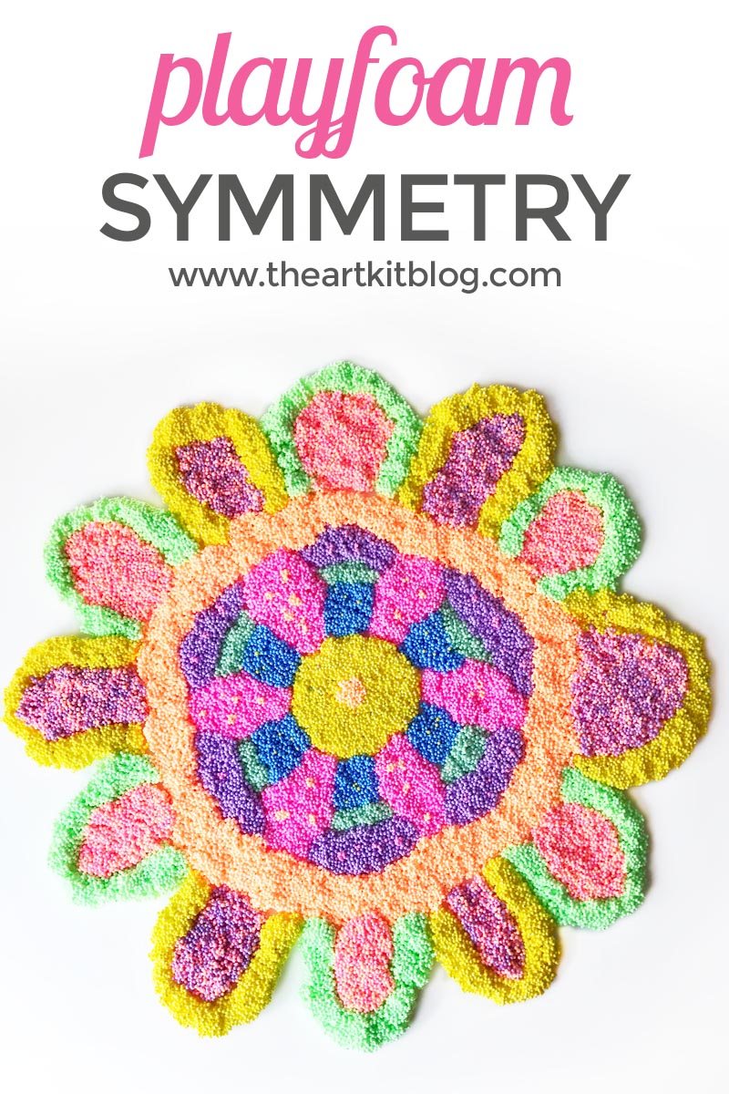 Learning about symmetry with playfoam by the art kit