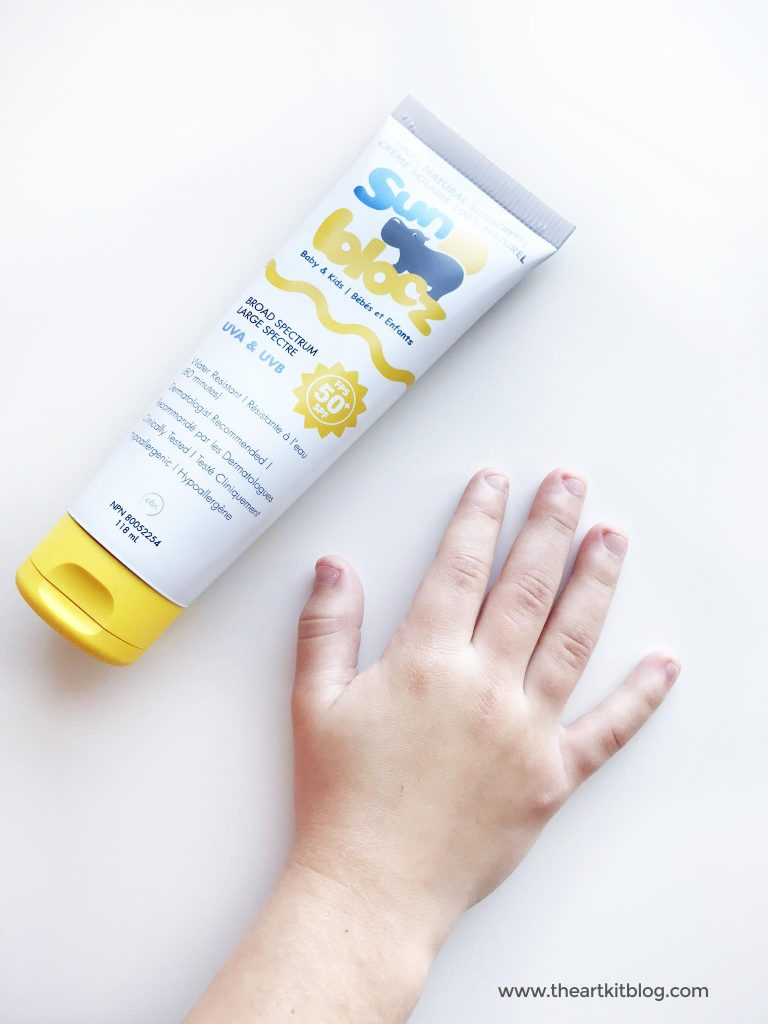 the best non toxic sunscreen for the entire family sun blocz review the art kit