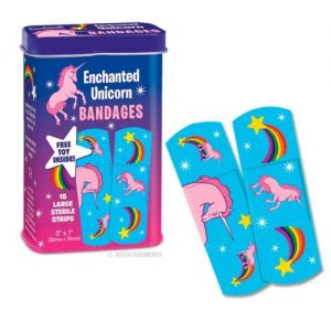 the ultimate unicorn gift guide bandages