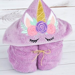 the ultimate unicorn gift guide unicorn hooded bath towel