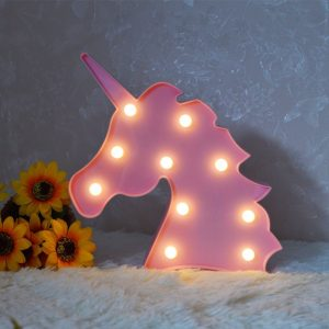 the ultimate unicorn gift guide unicorn pink marquee light