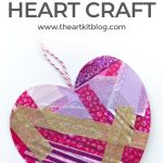 Washi Tape Hearts {No Mess Valentine's Day Craft for Kids}