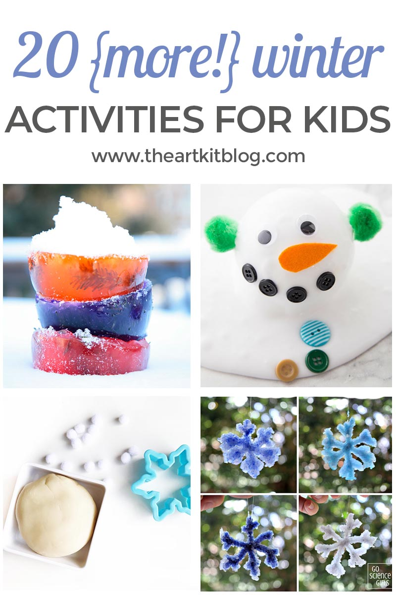 20 {More!} Winter Activities for Kids