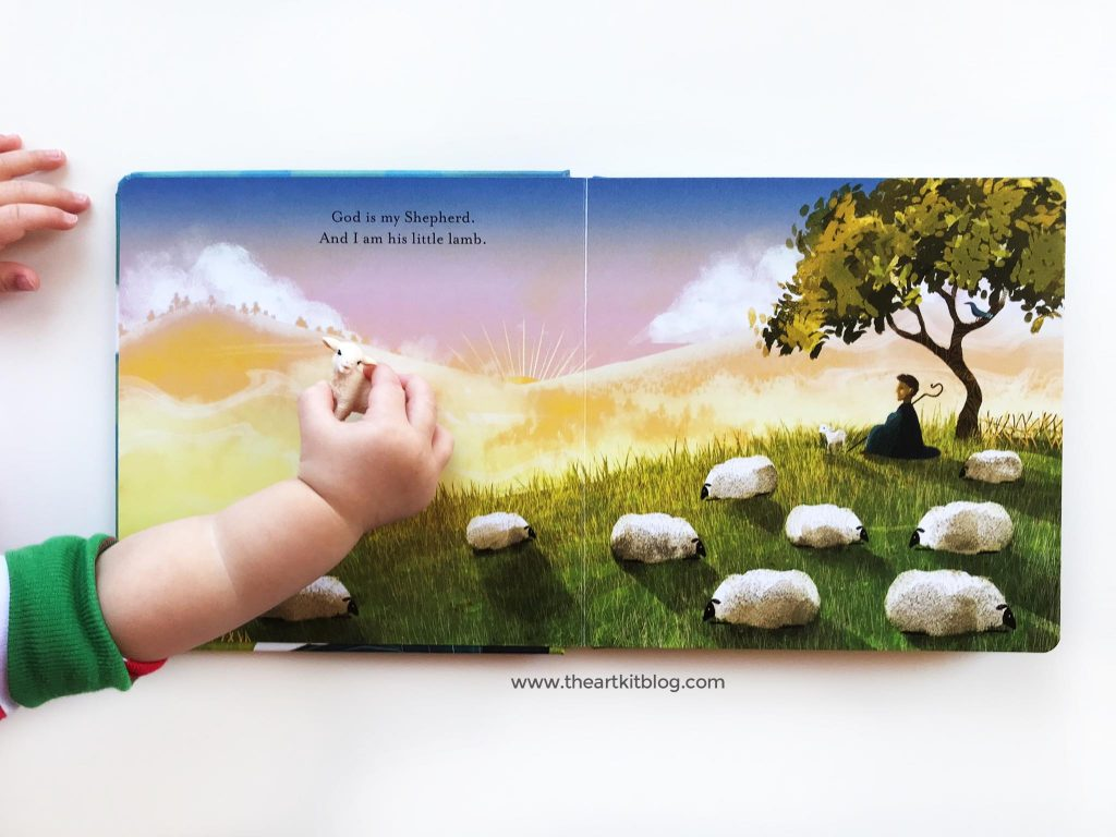 Found Psalm 23 The Jesus Storybook Bible book for kids