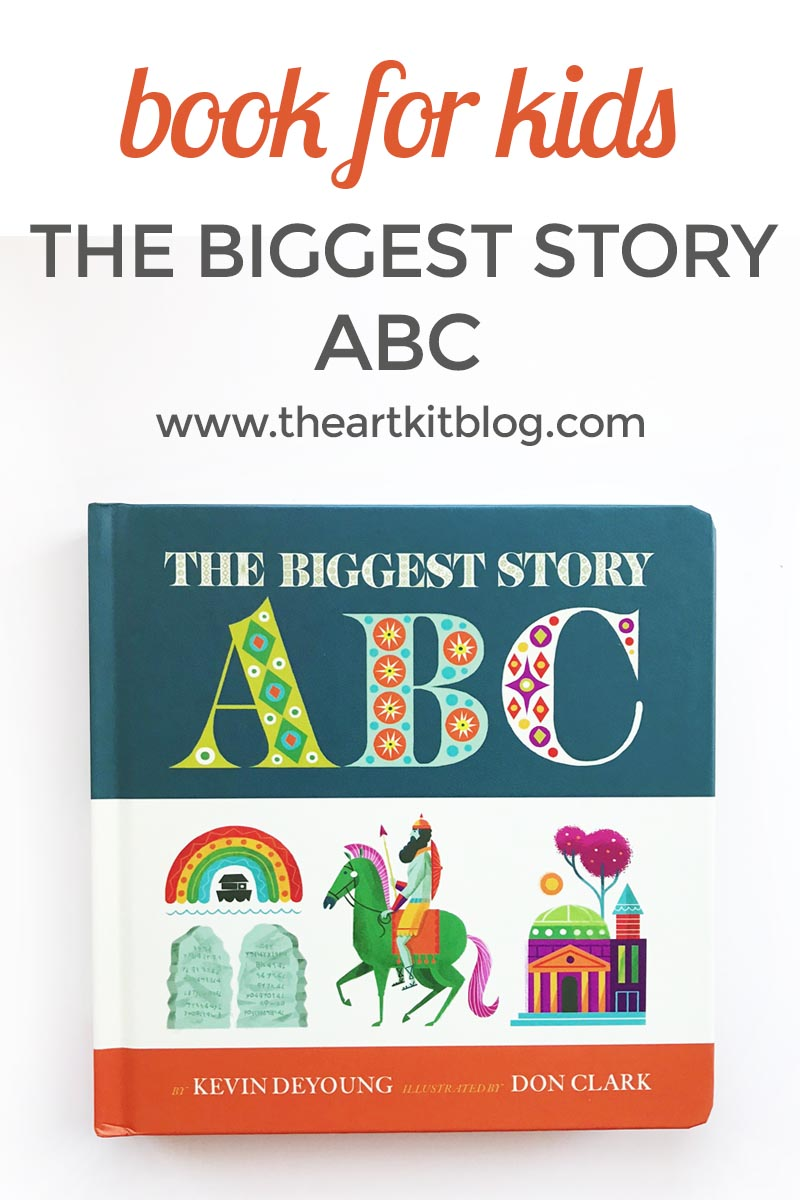 The Biggest story a to z bible book for kids review