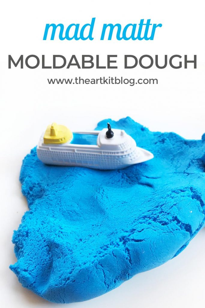mad mattr review timberdoodle sensory play dough invitation to play