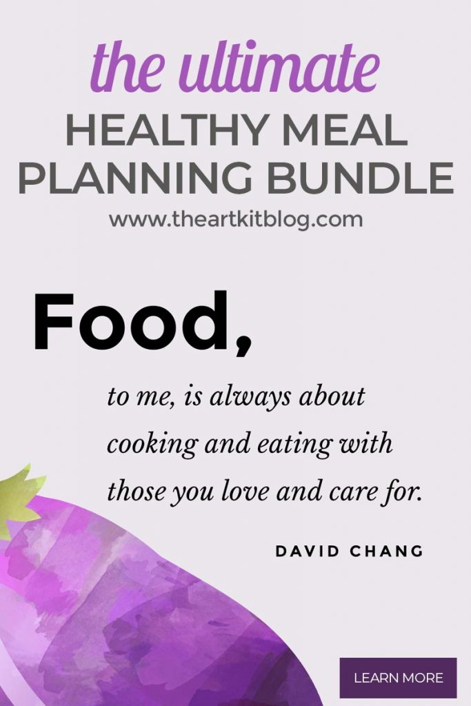 the ultimate healthy meal planning bundle