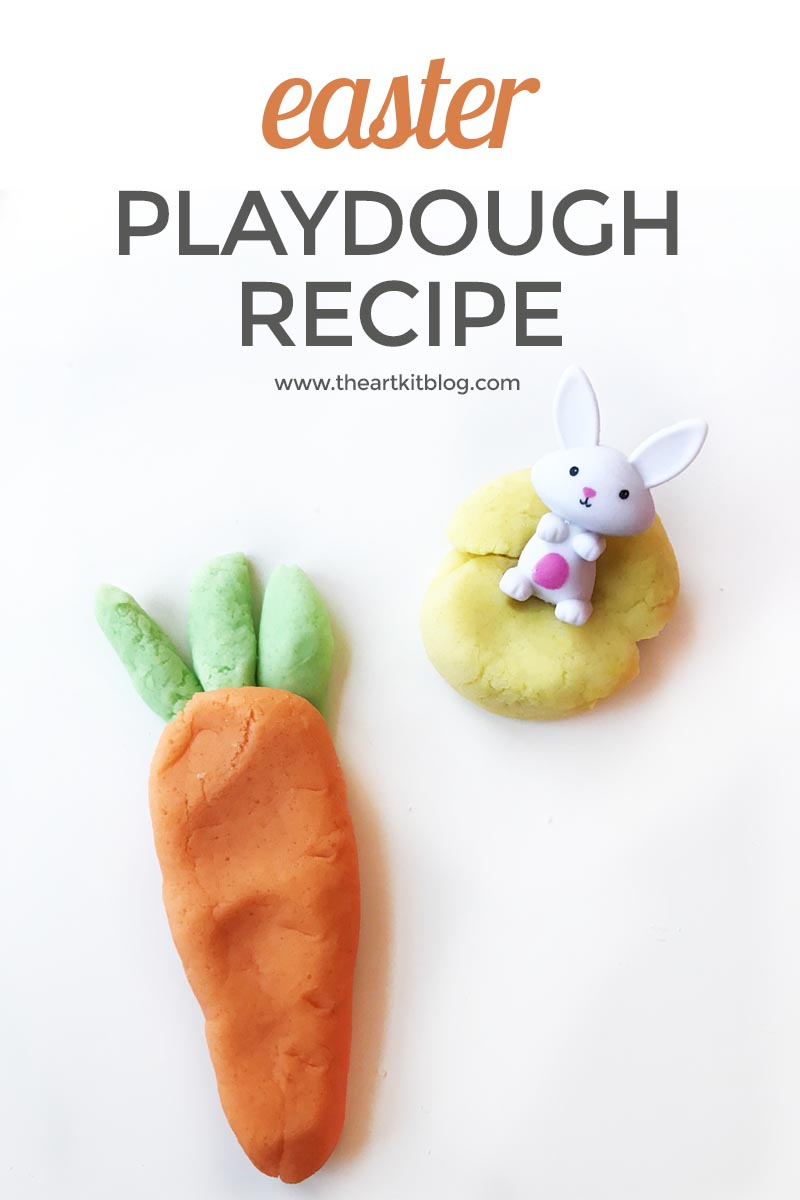 Homemade Playdough for Easter