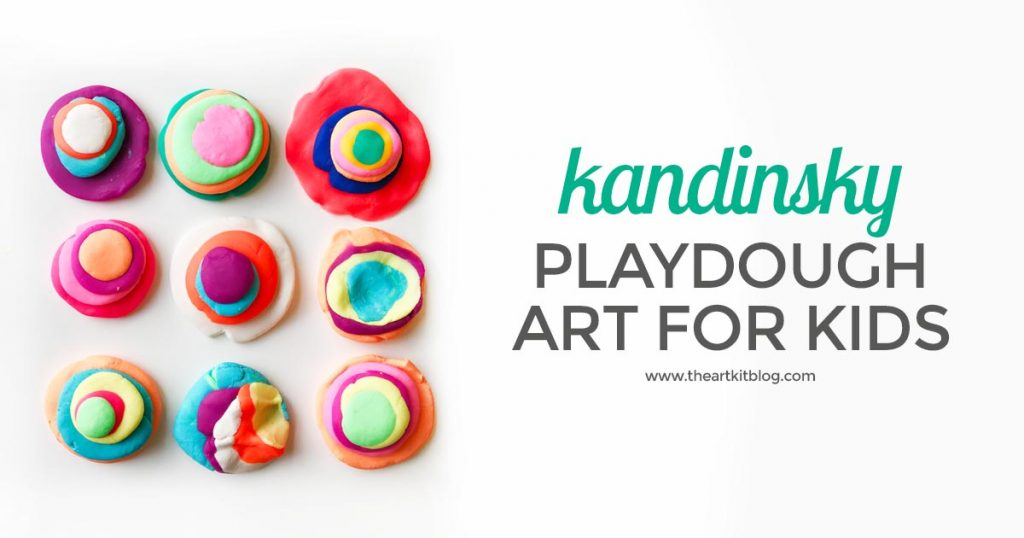 KANDINSKY FOR KIDS playdough art