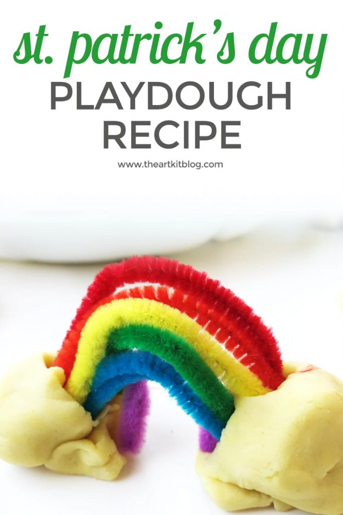 ST. PATRICKS DAY PLAYDOUGH pinterest