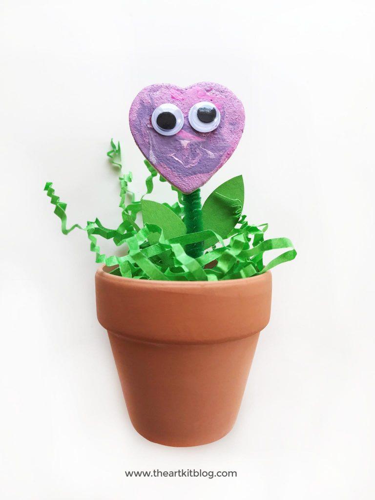 adorable FLOWER CRAFT for kids pinterest