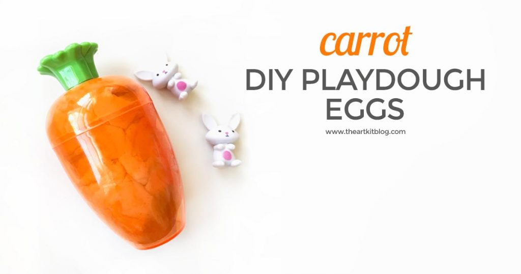 carrot PLAY DOH EGGS pinterest