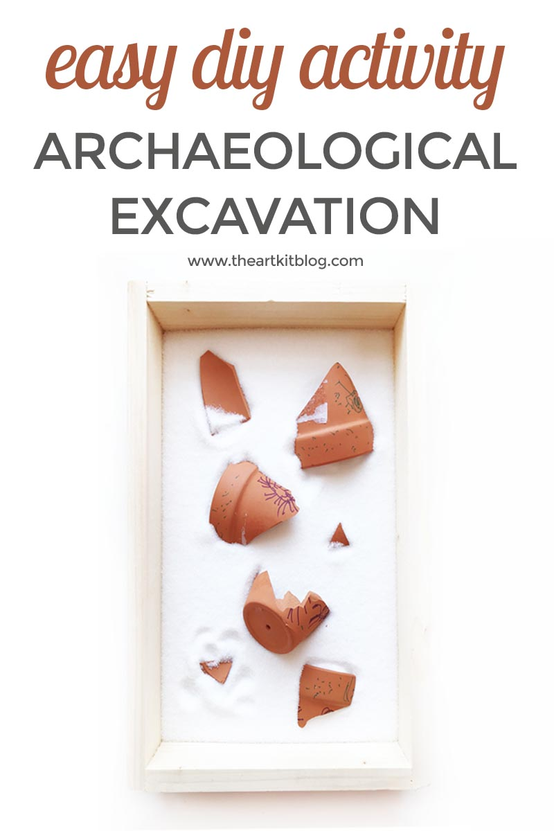 Archaeological Excavation Activity for Kids