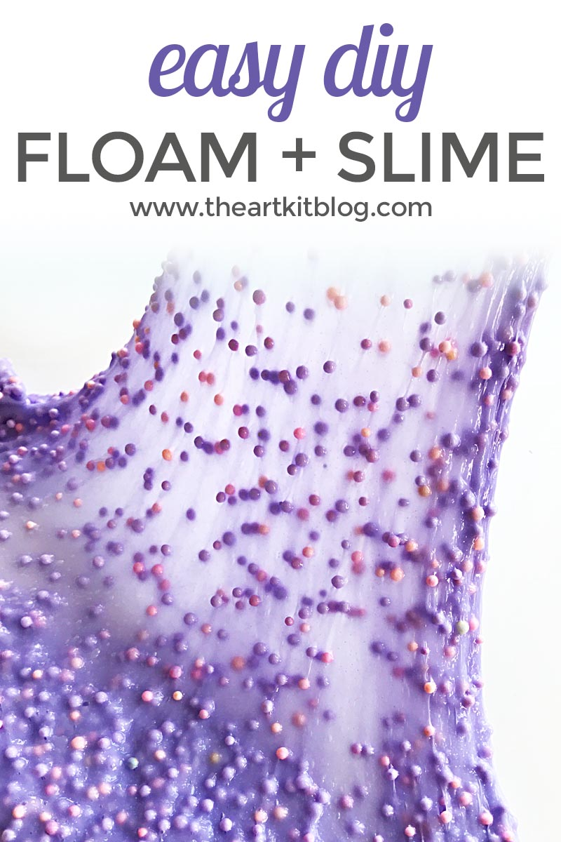 Ridiculously Easy Floam Slime Recipe